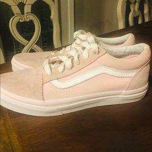 like new ❤️ Light pink suede vans